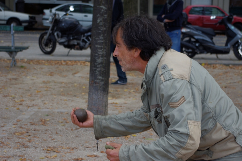 The secret of playing boule